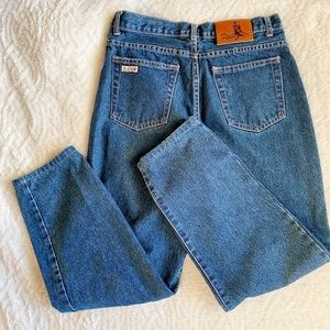 THE PERFECT DARK WASH VINTAGE MOM JEANS